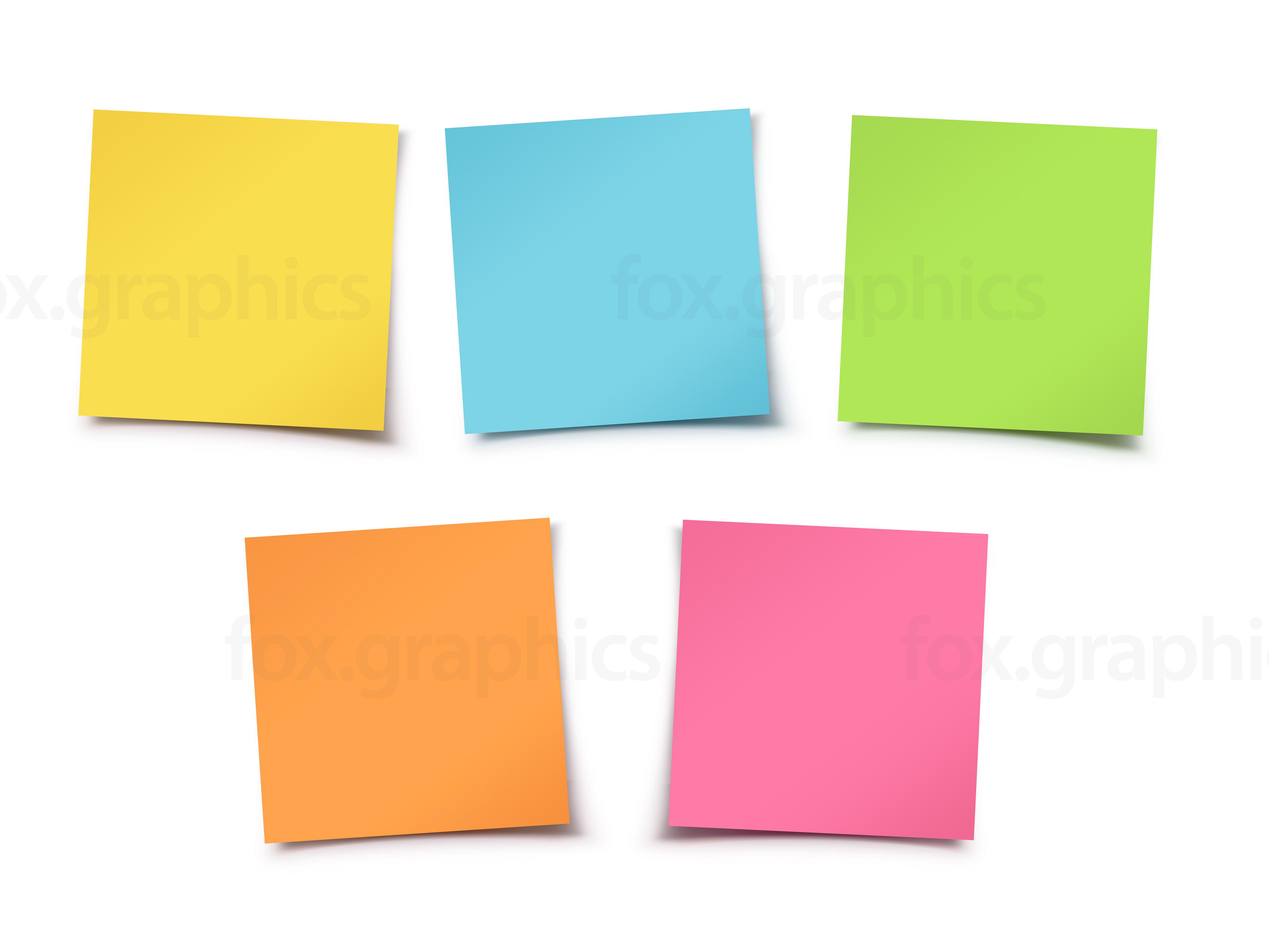 Sticky notes - Stickynotes HD PNG