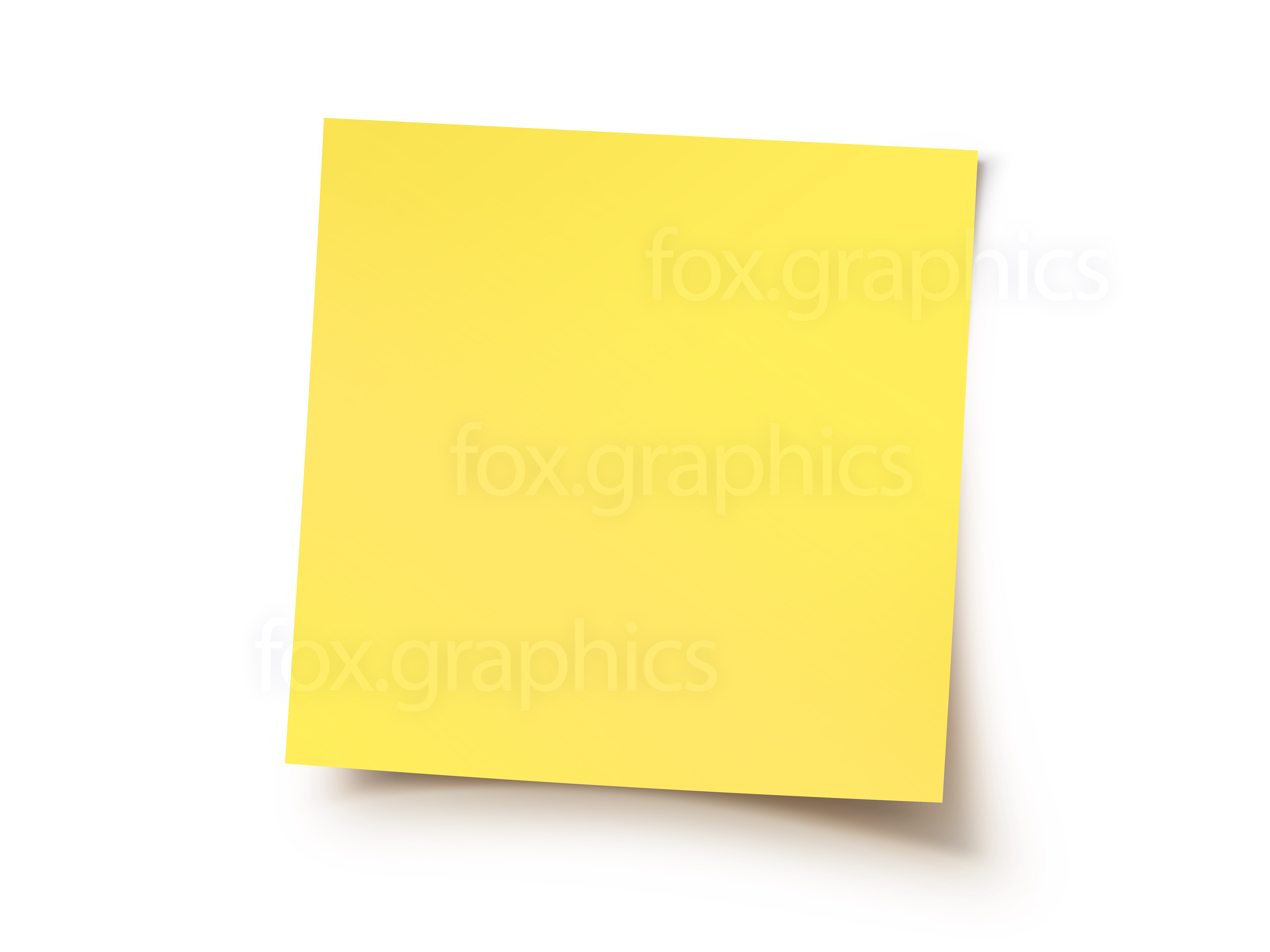 Yellow sticky note - Stickynotes HD PNG
