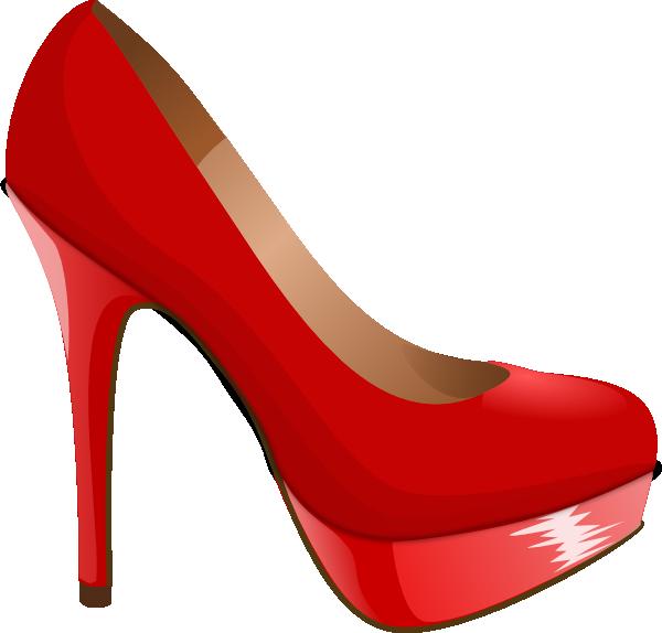 high heel svg | Red High Heel clip art - vector clip art online, royalty - Stiletto Heels PNG