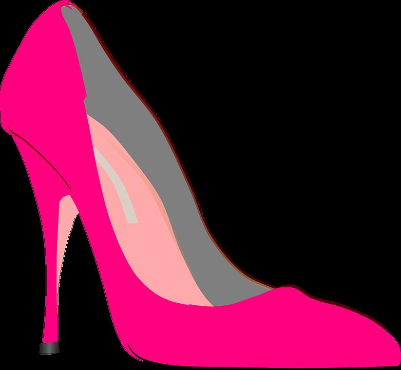 High Heels, Stilettos, Stiletto-Heeled Shoe, Pump, Pink - Stiletto Heels PNG