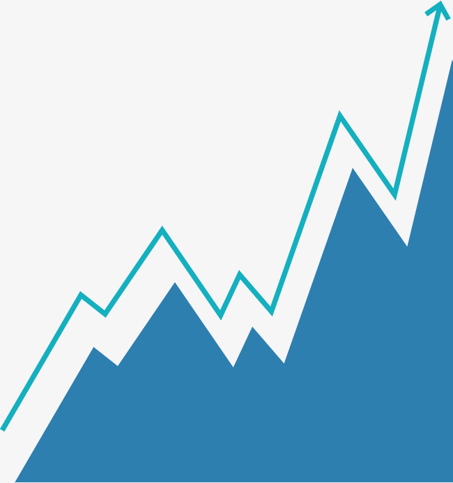 blue stock market analysis chart, Trend Chart, Business Affairs, Science  And Technology PNG - Stock Market PNG
