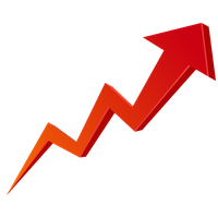 Stock Market Graph Up Transparent Image PNG Image - Stock Market PNG