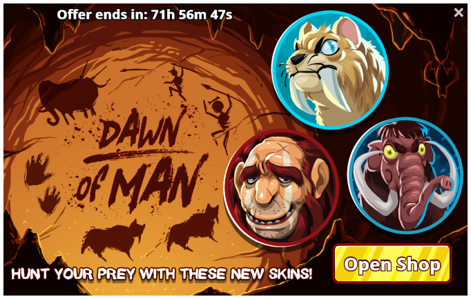 Stone-age-dawn-of-man-offer.png - Stone Age Man Hunting PNG