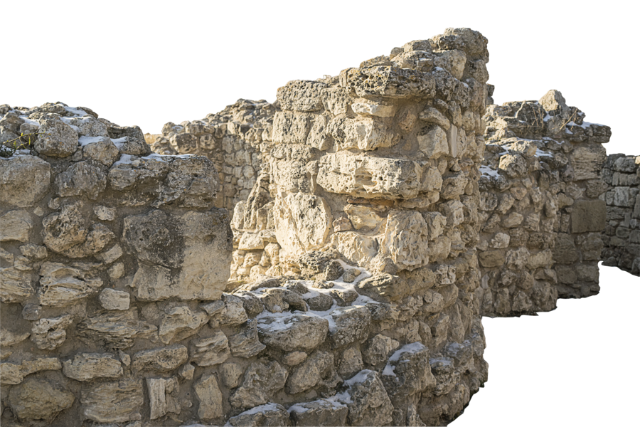 Stone wall of Chersonesos by volklarson PlusPng.com  - Stone HD PNG