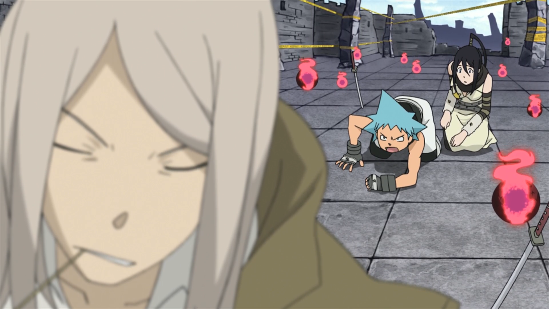 Soul Eater Episode 2 HD - Black Star refuses to stop.png - Stop PNG HD