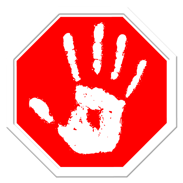 Stop, Hand, Finger, Containing, Off - Stop PNG HD