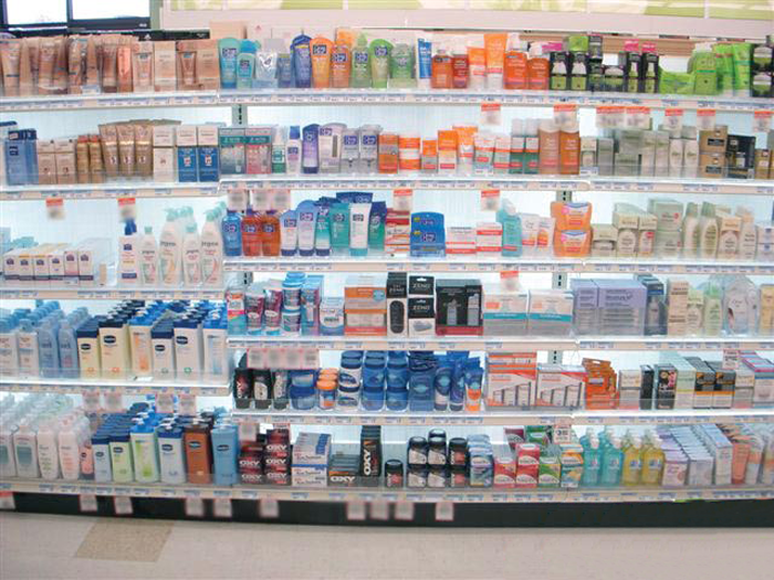 BEAUTY SUPPLY STORE SHELVING AND FIXTURES PHOTO GALLERY - Store Shelf HD PNG