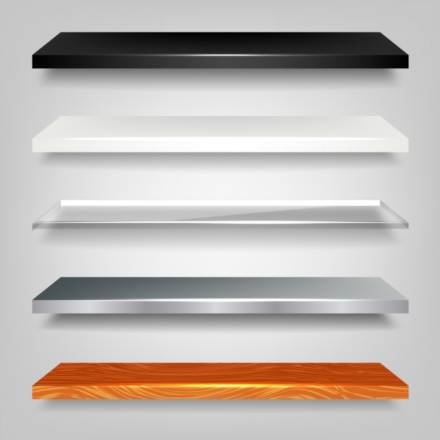 Shiny Shelf Pack - Store Shelf HD PNG