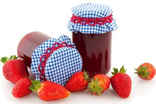 Strawberry Jam Recipe Without Pectin - Strawberry Jam PNG