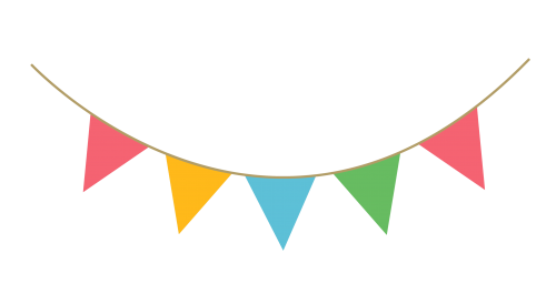 Party Streamer Decoration PNG