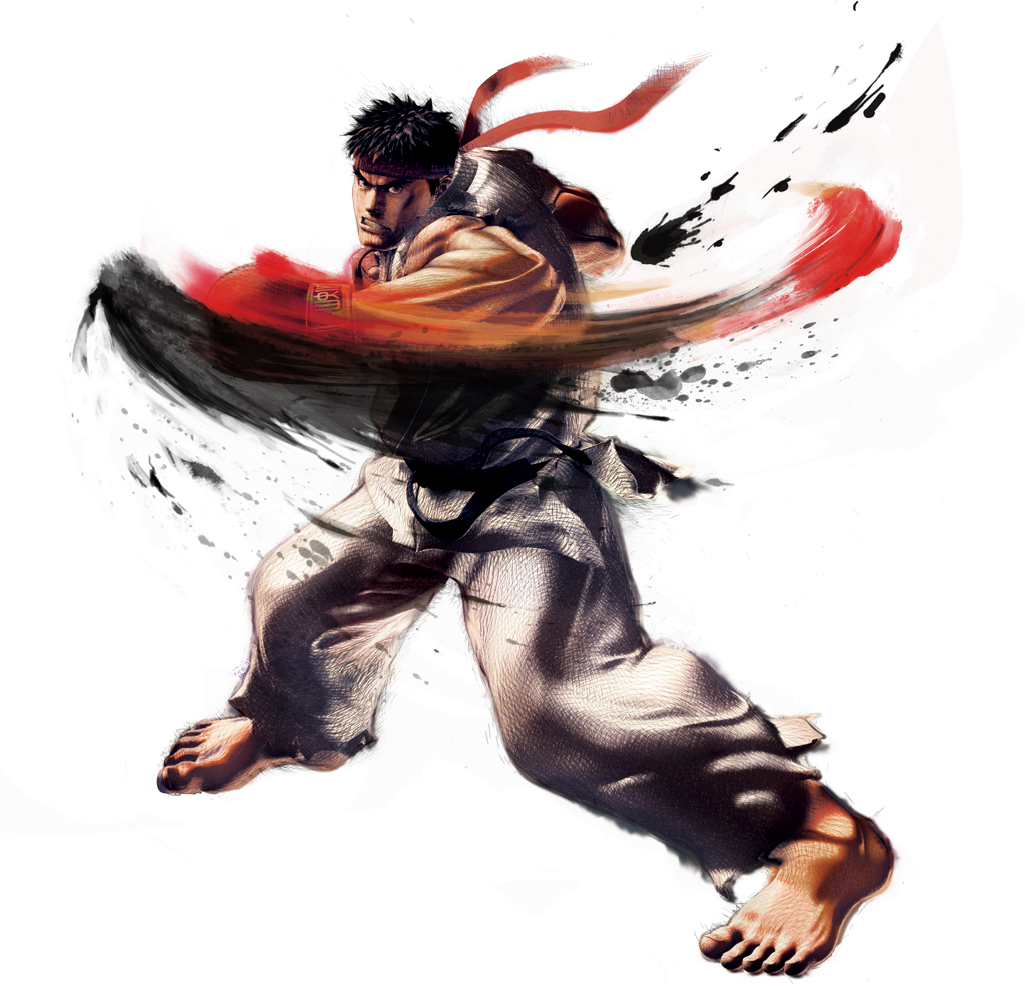 Street Fighter HD PNG - 119823