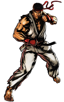 260px-Ryu.png - Street Fighter PNG