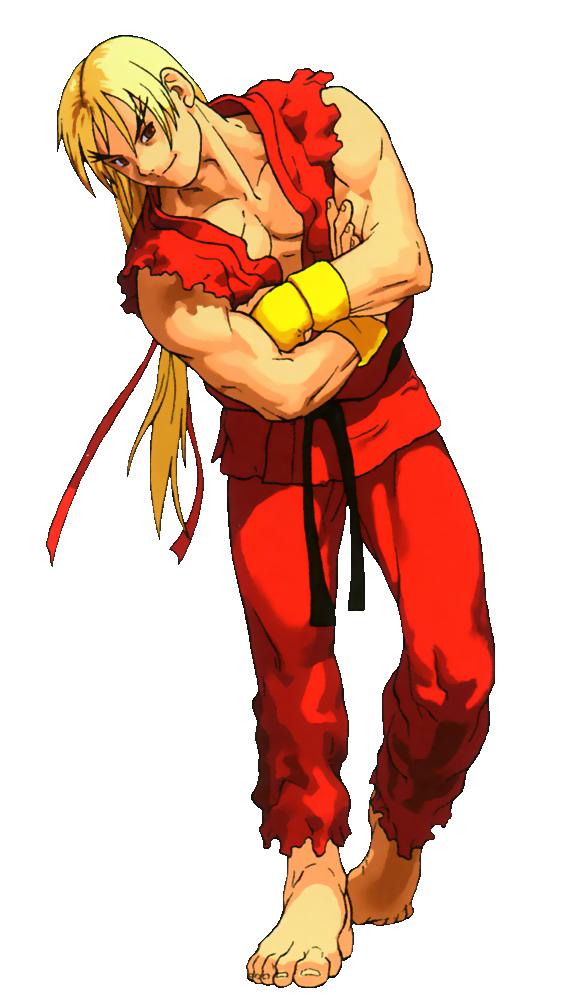 Street Fighter - Ken Masters as he appears in X-Men vs Street Fighter.png - Street Fighter PNG