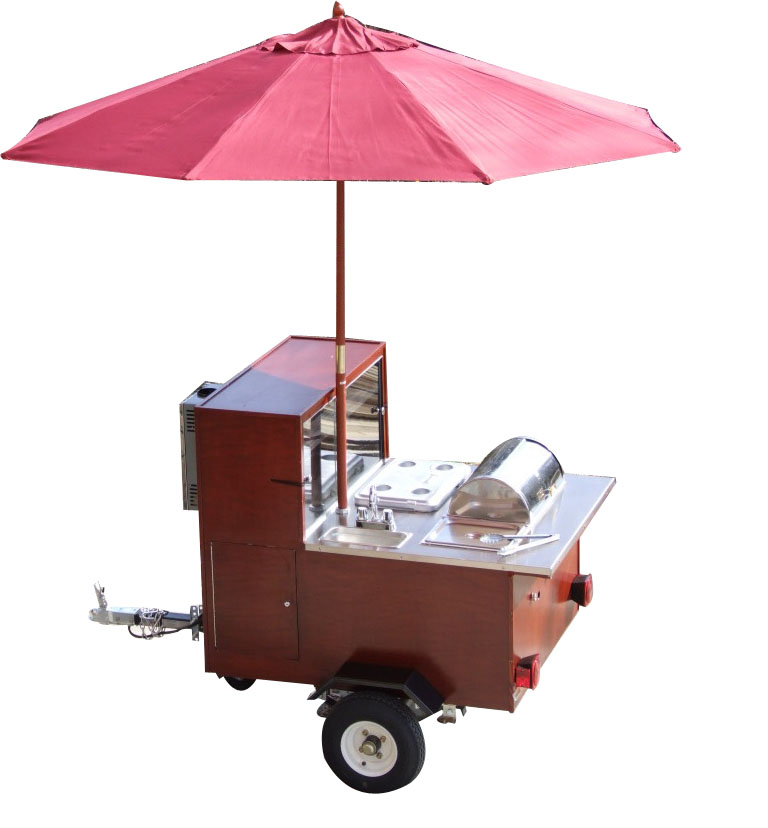 Build a hot dog cart for under $900! Brought to you by pro cart  manufacturer BensCarts pluspng.com, this course lets you build your own u201cCash Cow  hot dog cart. - Street Vendor PNG