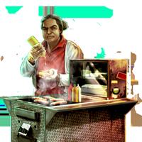 File:Huge item street food vendor 01.png - Street Vendor PNG