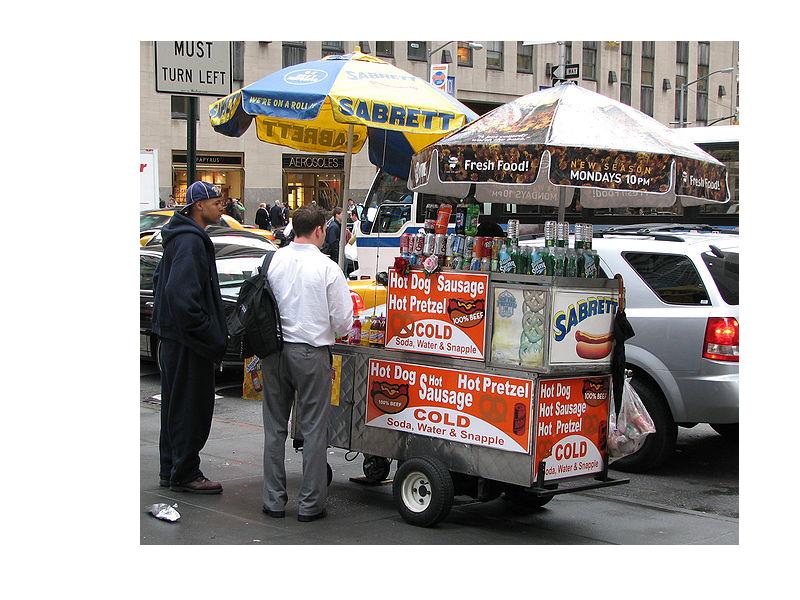 NYC Street Vendors - Street Vendor PNG