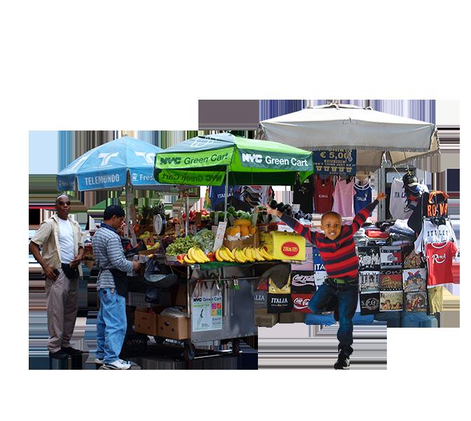 Street Vendor PNG - 54792