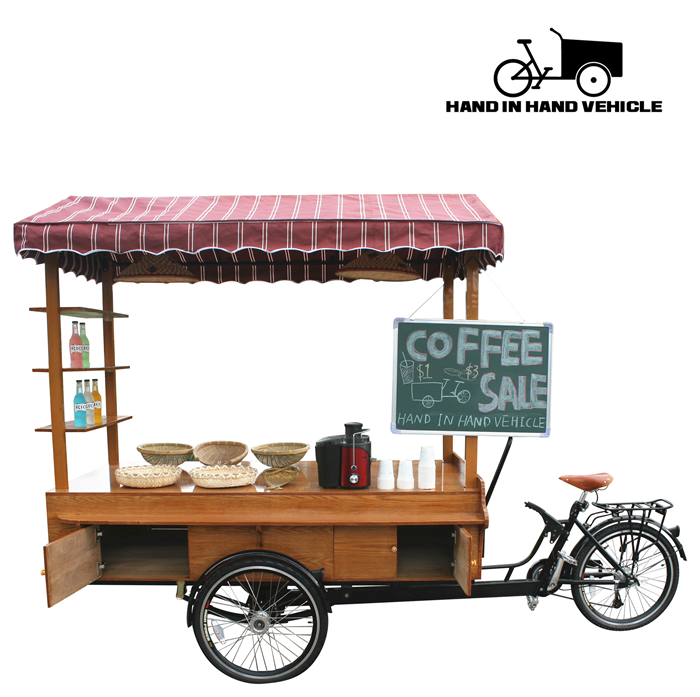 street vending carts electric food cart coffee bike for sale - Street Vendor PNG