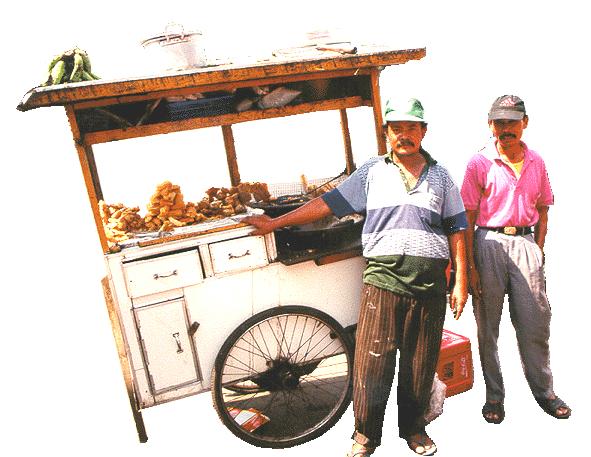 Street Vendor PNG - 54780