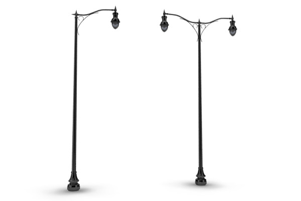 Streetlamp HD PNG-PlusPNG.com-600 - Streetlamp HD PNG