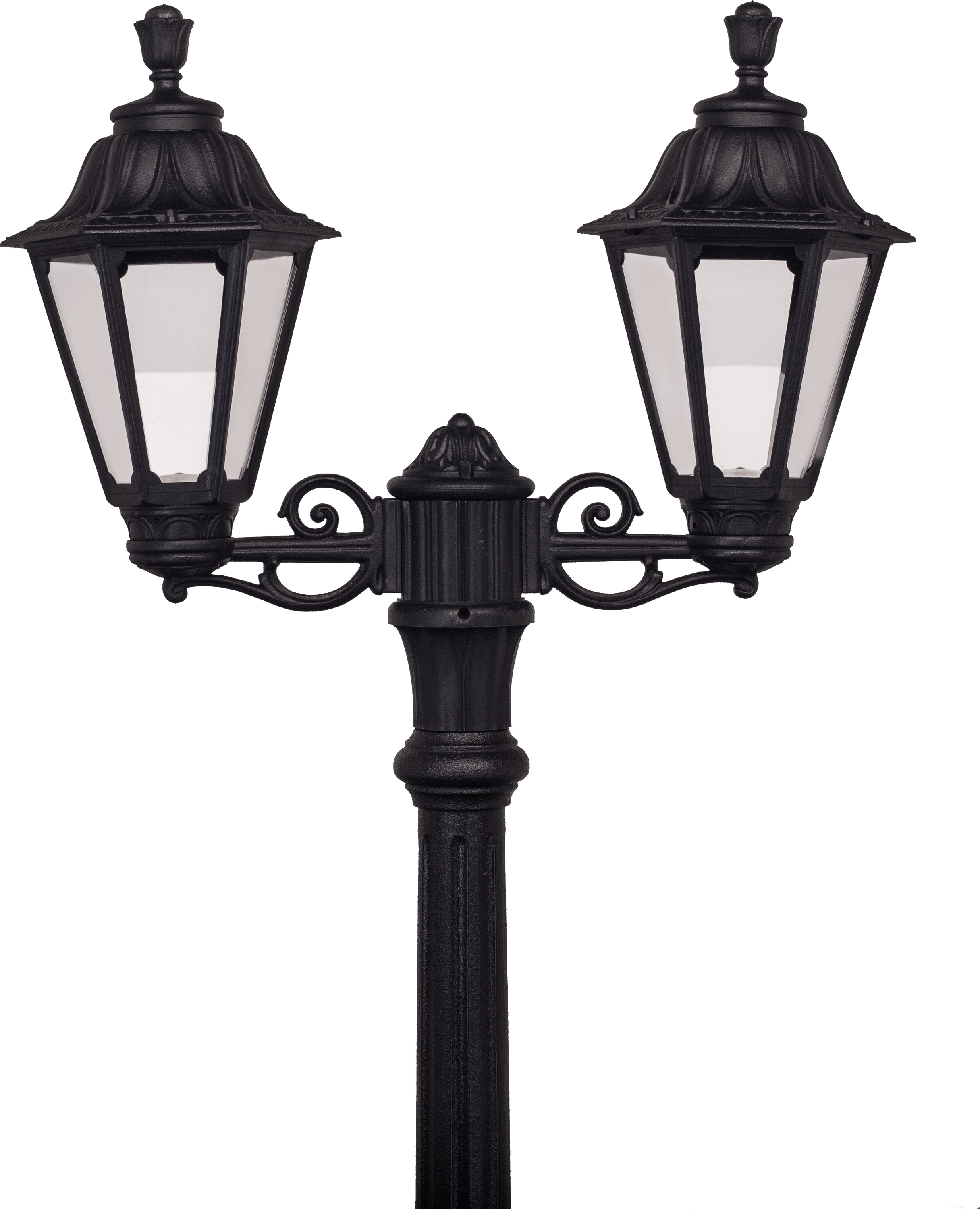 Double Streetlight - Streetlight PNG HD