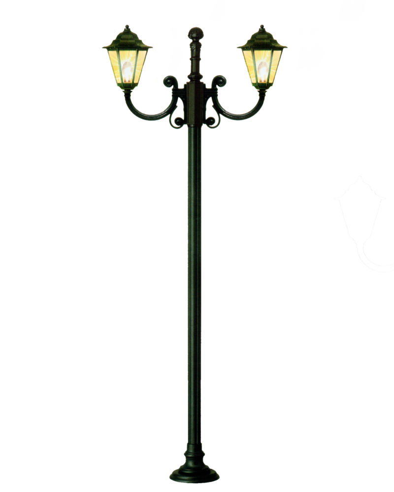Antique Street Lamp Clipart.