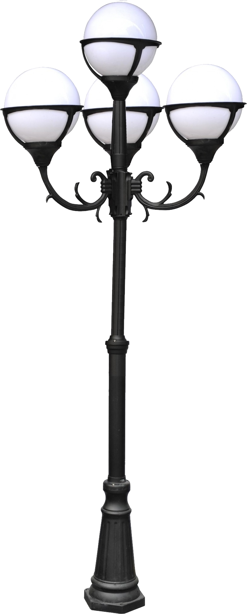 Street Light PNG Glowing by T
