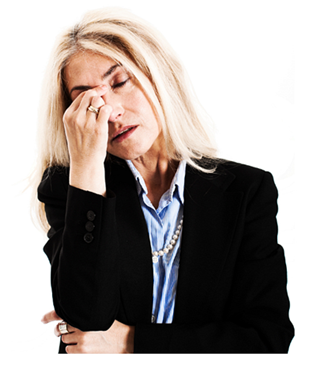Mature Woman Stressed Out - Stressed Out PNG HD