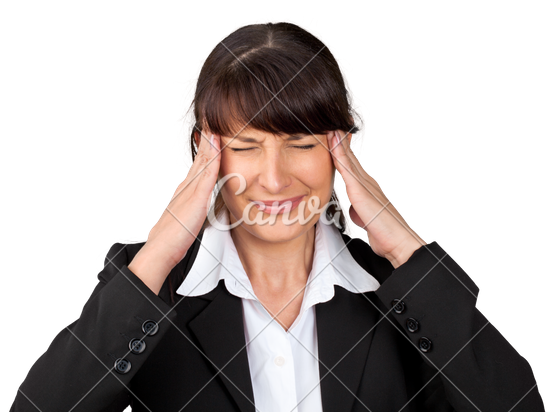 Stressed Out Businesswoman - Stressed Out PNG HD