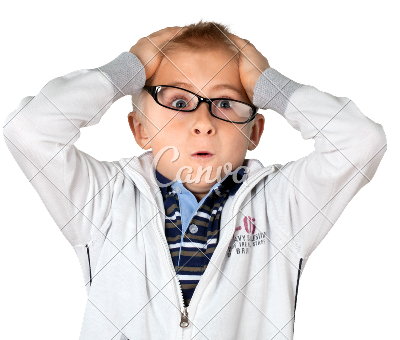 Young Boy Stressing Out - Stressed Out PNG HD