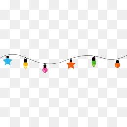 String Lights PNG HD - 124838