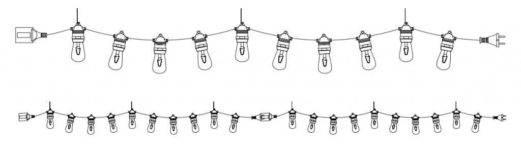 String Lights PNG HD - 124841