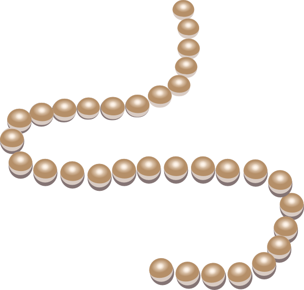 Download this image as: - String Of Beads PNG