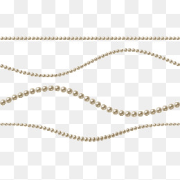 string of pearls - String Of Beads PNG