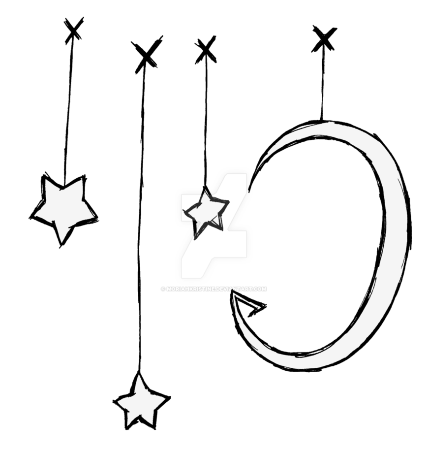 Catching Stars on Strings by MoriahKristine PlusPng.com  - Strings PNG