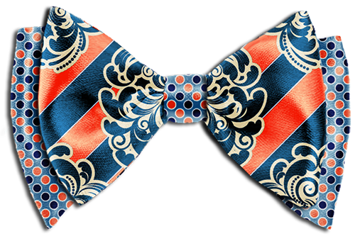 Be the first to review u201cDesign Your Own Custom Bow Tie-The Coral Blueu201d  Cancel reply - Striped Bow Tie PNG