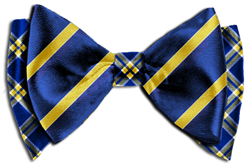 Be the first to review u201cDesign Your Own Custom Bow Tie-The Louis Blue u0026  Goldu201d Cancel reply - Striped Bow Tie PNG