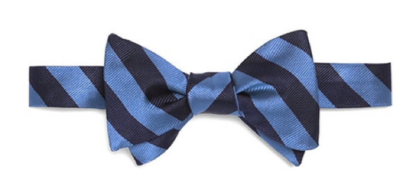 blue striped bow tie 2016 - Striped Bow Tie PNG