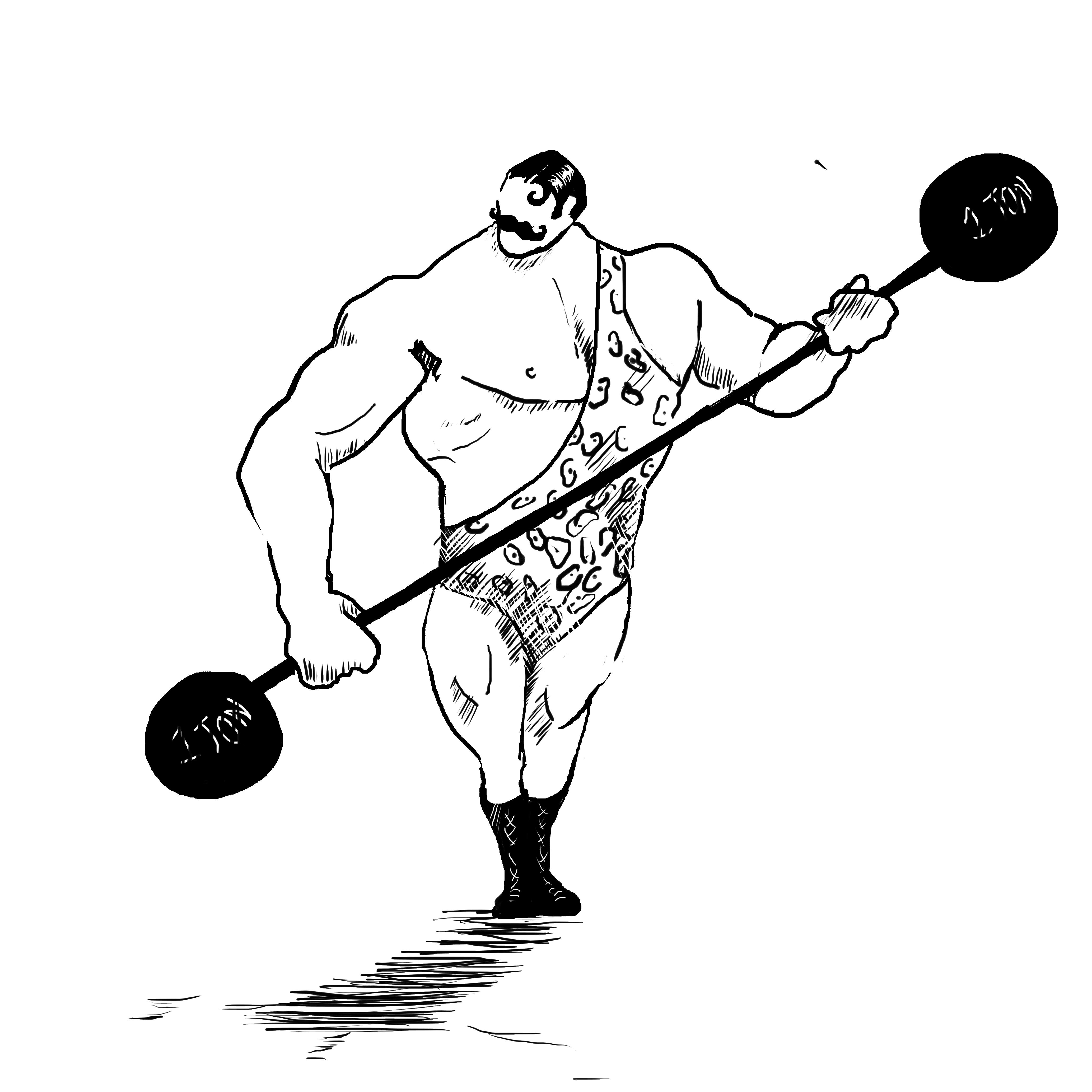Strongman PNG HD-PlusPNG.com-4134 - Strongman PNG HD
