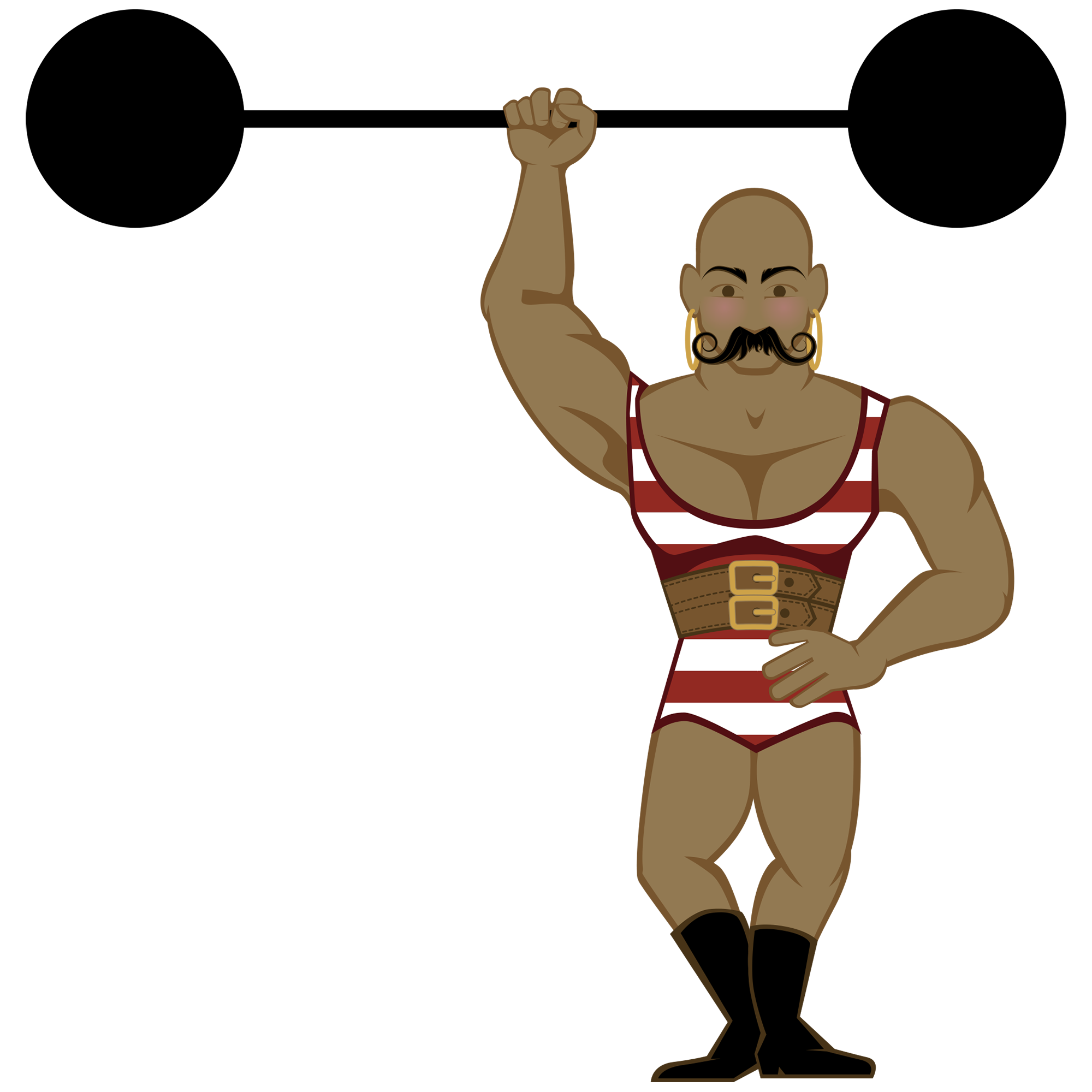Strong Man - Strongman PNG HD