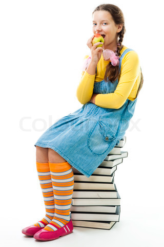 Student Sitting PNG - 84640