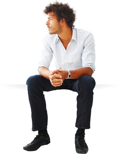 Student Sitting PNG - 84645