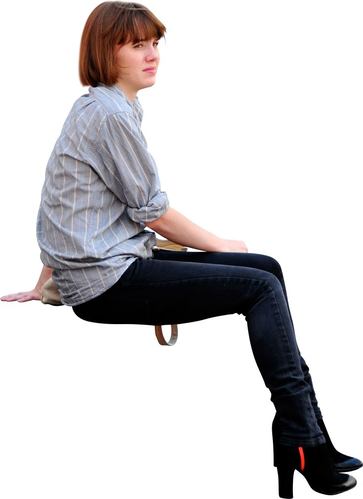 Student Sitting PNG - 84643
