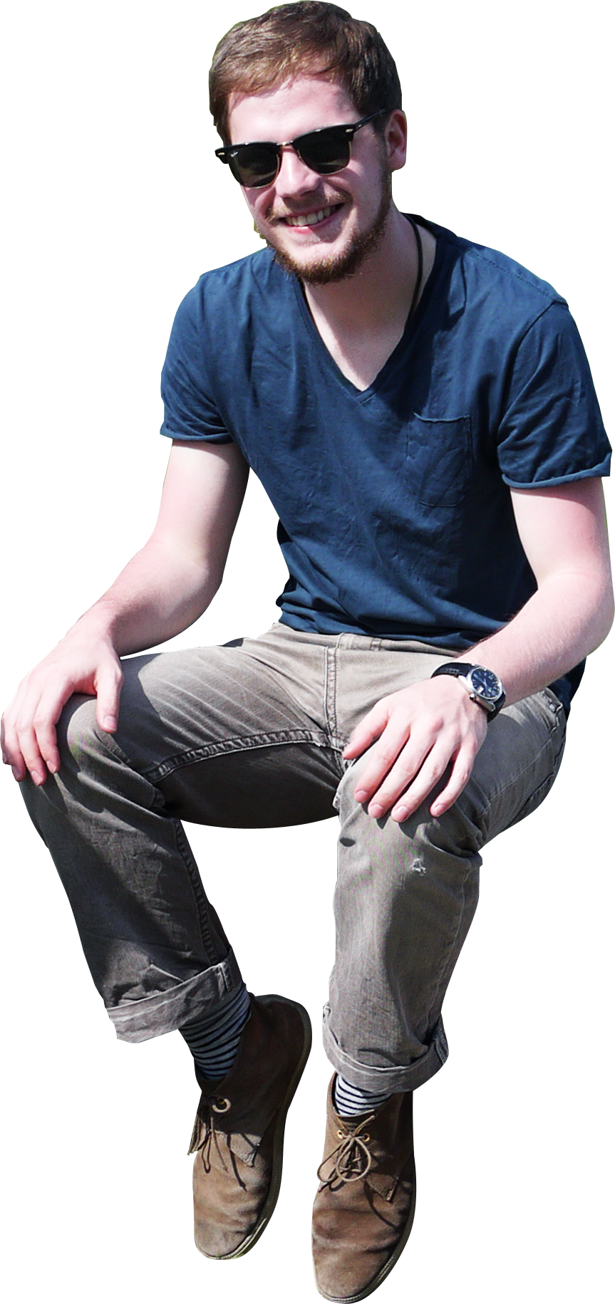 Student Sitting PNG - 84630