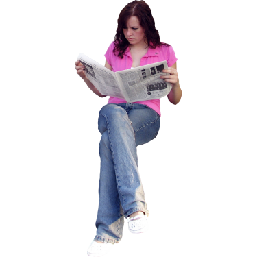 Student Sitting PNG - 84633