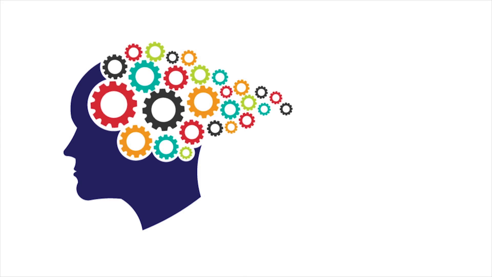 Concept Of Thinking Mind, Memory Training, Psychology. Video Logo Animation  HD Motion Background - Student Thinking PNG HD