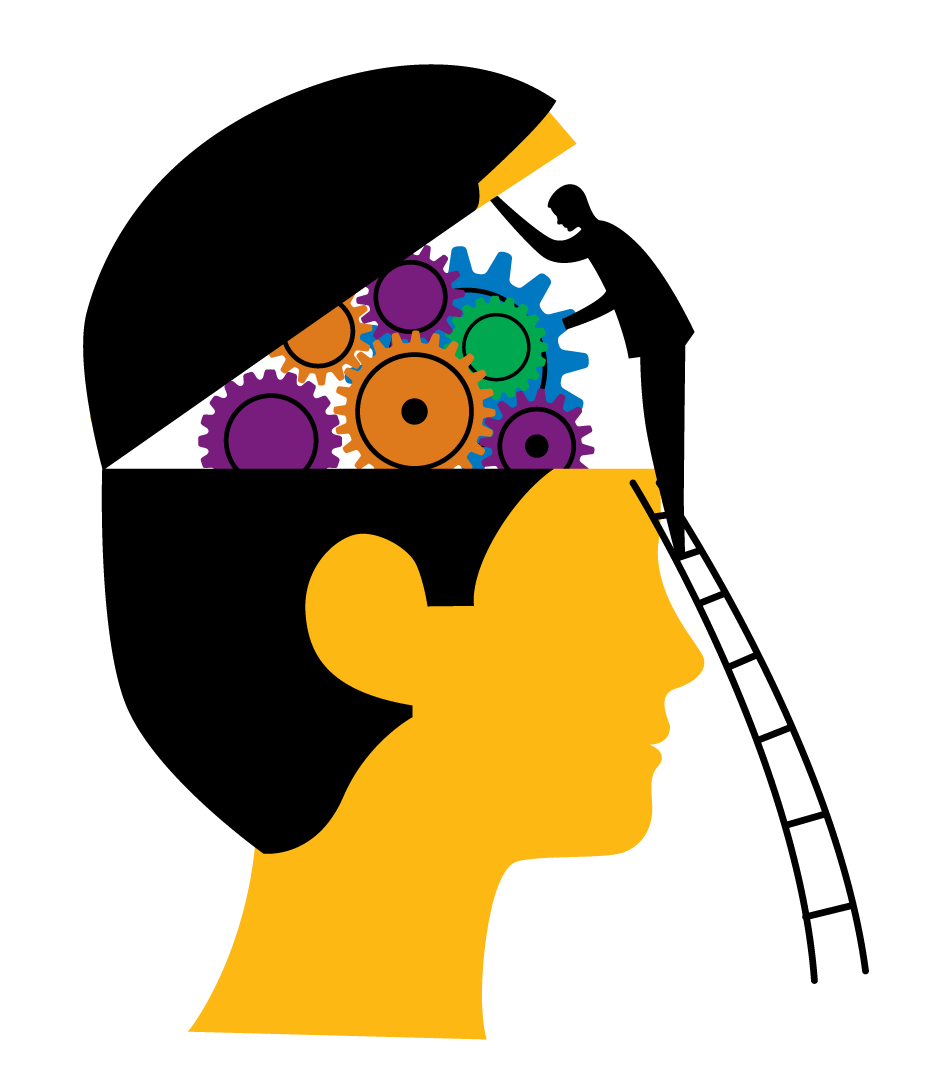Pin Mind Clipart Psychology Brain #6 - Psychology Brain PNG - Thinking  Brain PNG HD - Student Thinking PNG HD