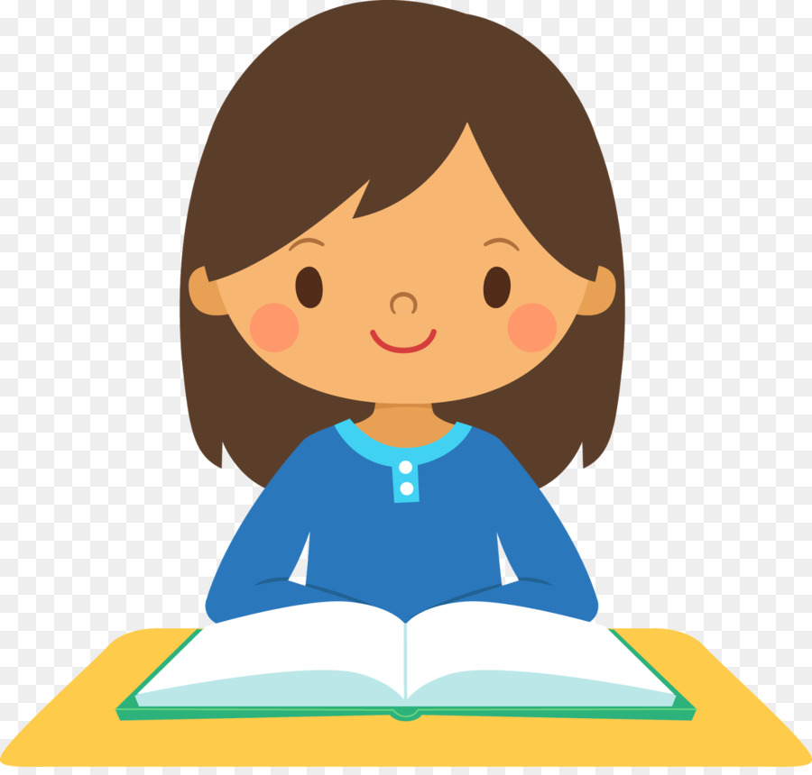 Student Girl School Clip Art - Girl Thinking Cliparts - Student Thinking PNG HD