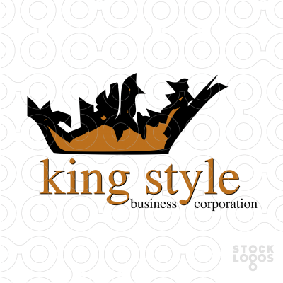 Exclusive Customizable Logo For Sale: king style - Sty PNG