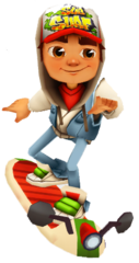 File:Scoot medium.png - Subway Surfer HD PNG